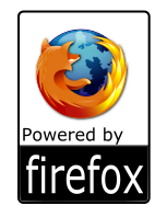 powered by firefox